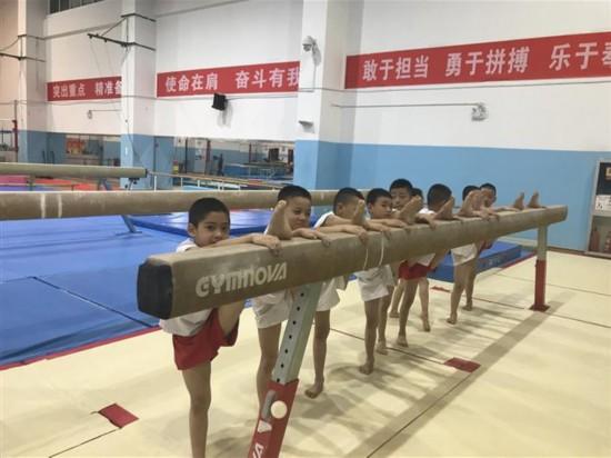 陕西体操:发力备战十四运