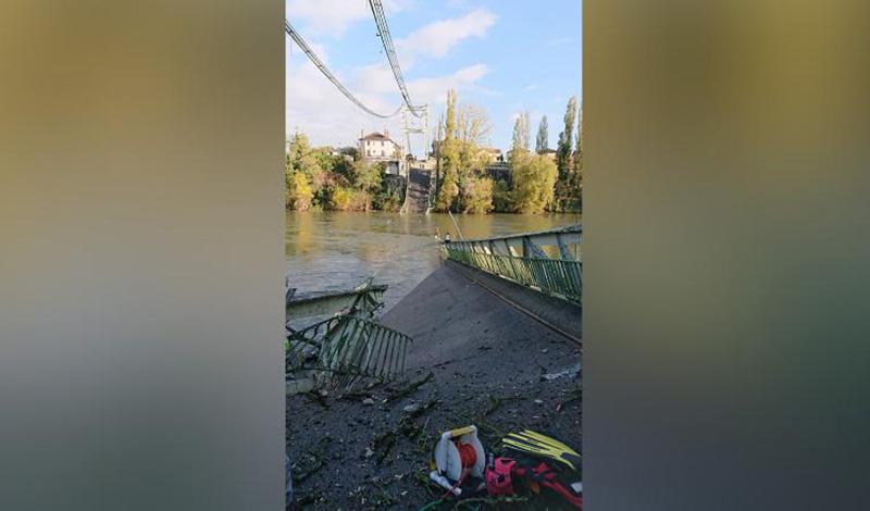石家庄赶集网:法国发生桥梁坍塌,一名15岁女孩消亡,数人失踪