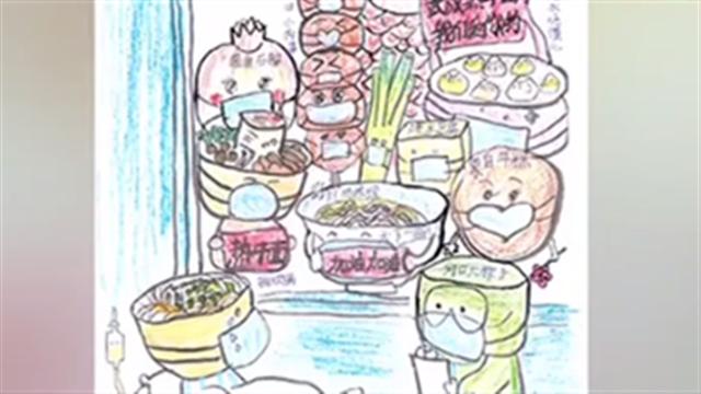 云南:10岁小女孩手绘系列漫画助力疫情防控