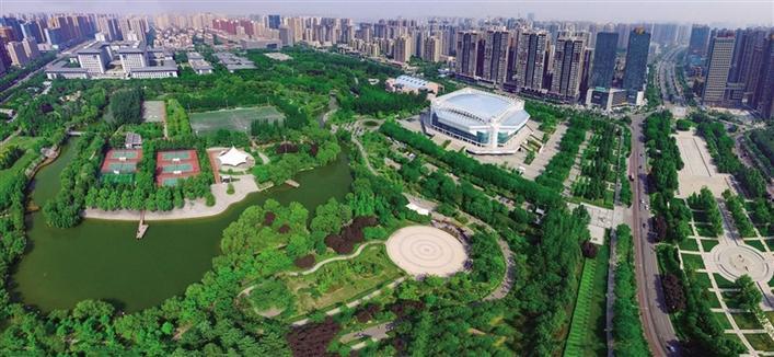 """「西安」城市运动公园 带""""动""""一座城—西安城市运动公园升级改造观察"""