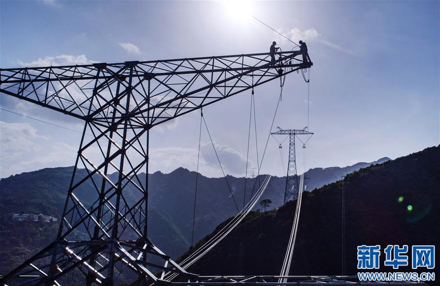 (聚焦复工复产)(1)清洁能源外送专用特高压输电工程建设有序推进