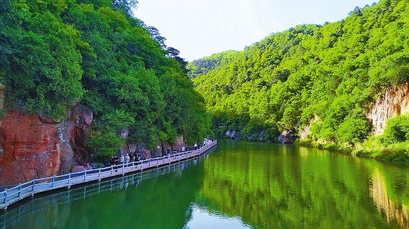 陕西黄陵:乡村新颜如画美