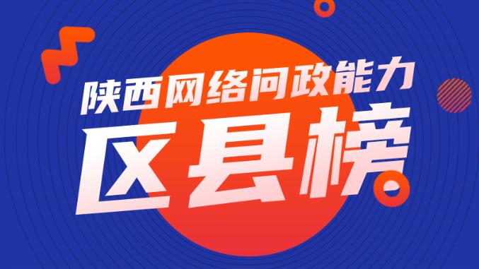 陕西网络问政能力5月区县榜单:碑林、长安、鄠邑位列前三