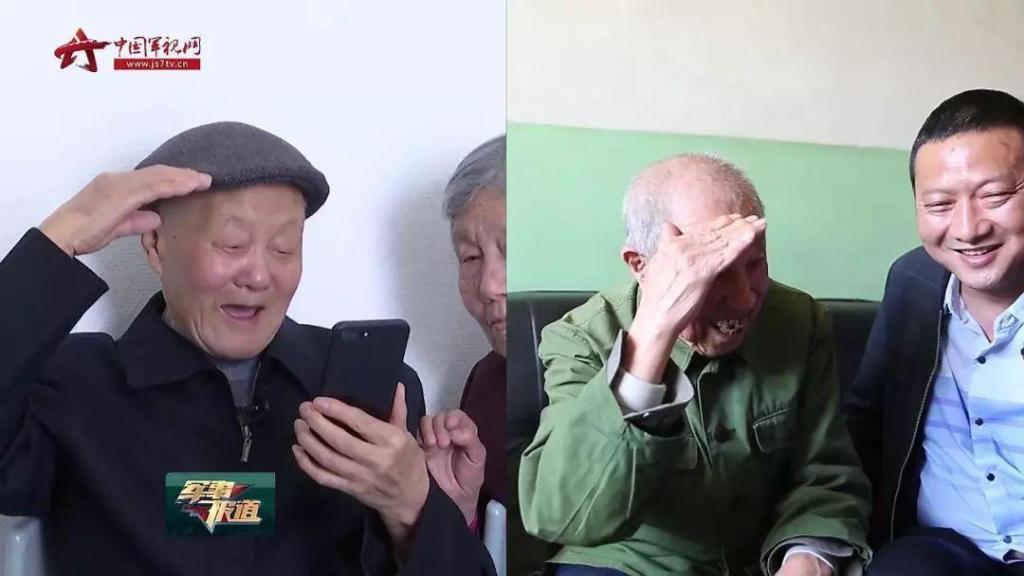儿媳接公公15年未见的战友回家,两位老人一眼认出彼此