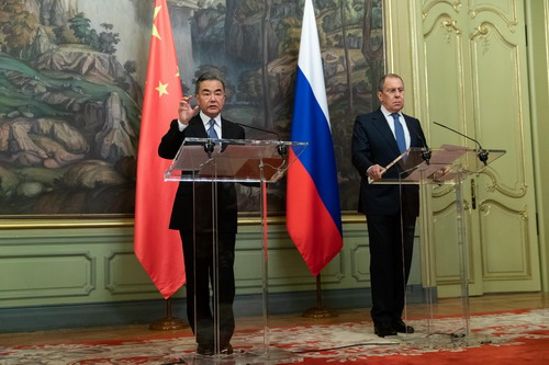 王毅:中国从不干涉美国内政