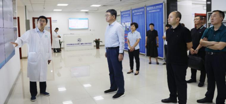集团董事长刘兵带队到地建集团考察交流
