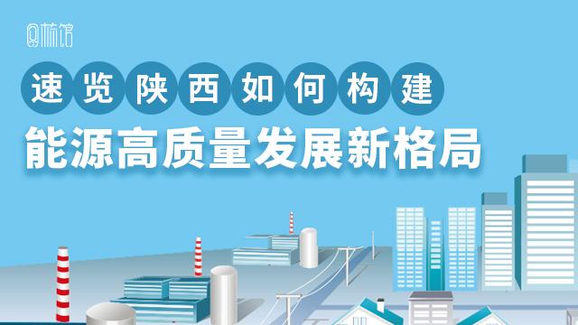 图梳馆丨速览陕西如何构建能源高质量发展新格局