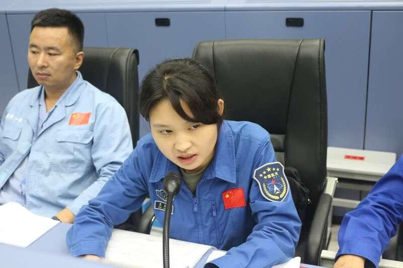 1996年出生的姑娘指挥火箭发射 大姐不大但很强周承钰