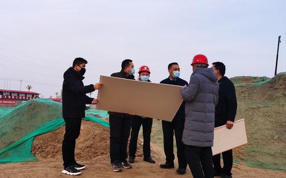 大荔:卢高昌检查大荔县项目建设和招商引资工作