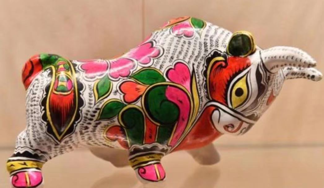 陕西凤翔十二生肖彩绘泥塑亮相中国国家博物馆