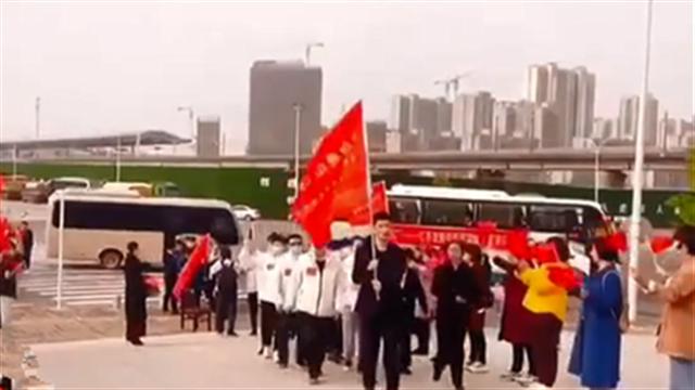 陕援鄂中医医疗队重访武汉