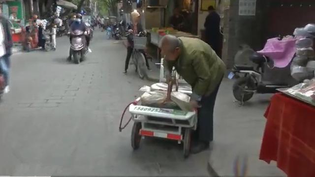盲人卖鸡蛋 37年从没少过秤