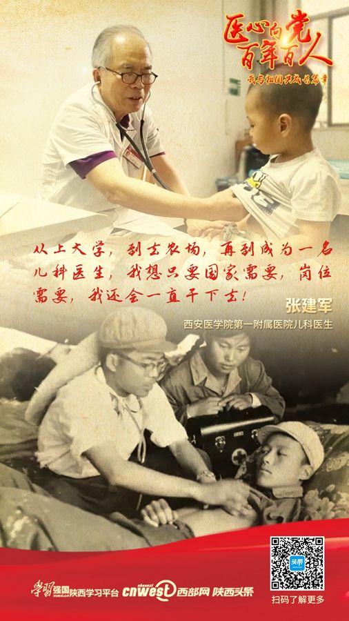 【医心向党 百年百人(第8期)】张建军:耄耋之年仍坚持每天出诊
