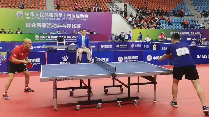 澳门星际网上开户丨十四运会群众赛事活动乒乓球比赛在澳门星际网址开赛