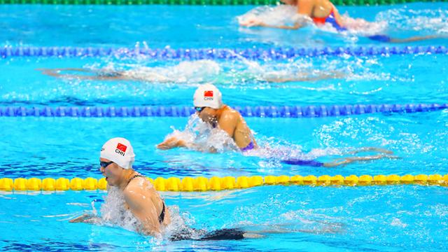余依婷获女子200米个人混合泳金牌 叶诗文摘银