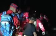 12人组团进山 女子下山摔伤脚踝骨折
