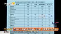 西安2020年民办学校报名人数公布 录取率较去年变化大