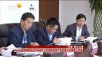 西咸新区召开深化扩大开放和加快产业发展大会筹备工作会