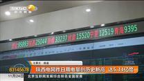 陕西电网昨日用电量创历史新高  达5.34亿度