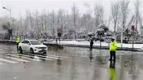 西安鄠邑十个峪口管控  严禁车辆进山