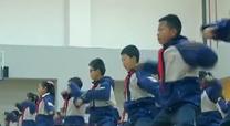 """校园""""武术操""""爆红网络   体育老师自创整编"""