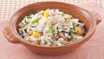 [好管家] 菠菜米饭炒杂菌
