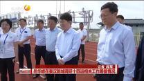 岳华峰在秦汉新城调研十四运相关工作筹备情况