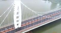 相当于6座埃菲尔铁塔的用钢量 灞河元朔大桥