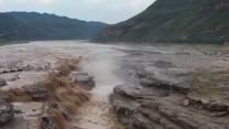 [陕西]黄河壶口瀑布进入秋汛 迎来最佳观赏期