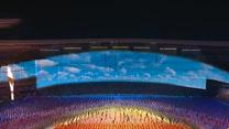 [办一届精彩圆满的体育盛会]十四运会开幕式奏响华彩乐章 体育精神激荡全民健身热情