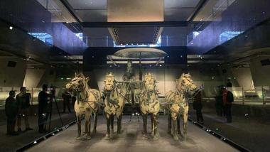 秦陵銅車馬博物館正式對外開放
